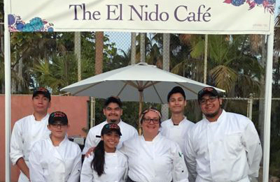 el nido kitchen-students-at gala-2018
